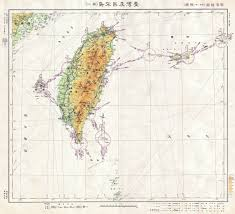 World War Ii Maps by File 1943 Japanese World War Ii Aviation Map Of Taiwan Or Formosa