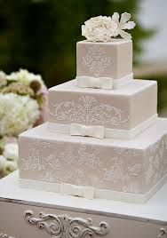 wedding cakes designs 40 lace wedding cake ideas weddingomania