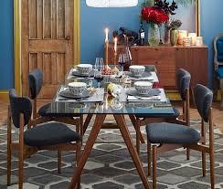 west elm mid century dining table west elm jensen mid century modern dining table in greenpoint