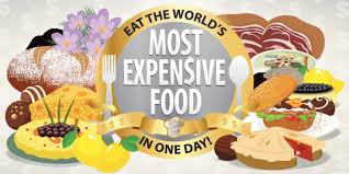 all around the world in food world s most expensive food in a day