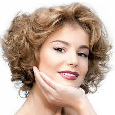 medium short hairstyle for curly hair 1000 images about