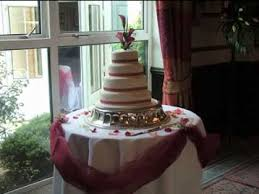 diy wedding cake table decorating ideas youtube