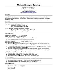 resume resume examples