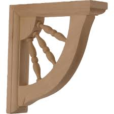 decor carved wooden shelf brackets for wall decoration ideas