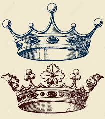 crown set royalty free cliparts vectors and stock