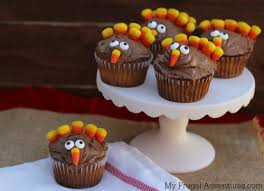 thanksgiving dessert turkey cupcakes my frugal adventures