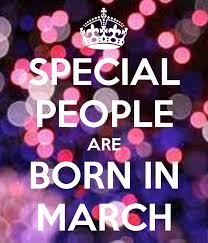 March Birthday Memes - special people are born in march keep calm and carry on image