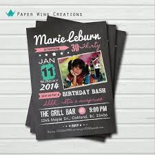 16 best 30th birthday invitations images on pinterest 30th