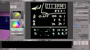 blender tutorial rgb and hexadecimal values in the paint program