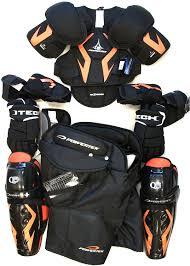 new junior medium protective ice hockey equipment set protective