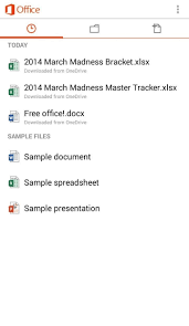 Simple Spreadsheet For Ipad How To Create U0026 Edit Documents Using Microsoft Office For Android