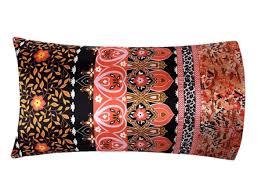 Moroccan Bed Linen - moroccan bedding boho bedding bohemian pillow case satin