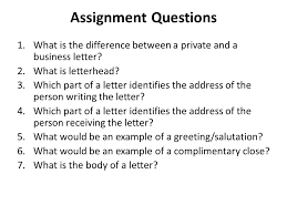 assignment questions what is the difference between a private and