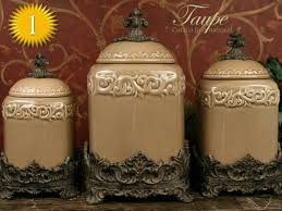 rustic kitchen canister sets modest delightful kitchen canister sets ceramic canisters set of 4
