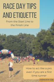 race day tips and running etiquette and a few pet peeves