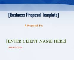 professional business proposal template word microsoft excel