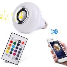 Bluetooth Light Bulb Speaker Prolight Led Bluetooth Speaker Light Bulb Music Light Bulb E27
