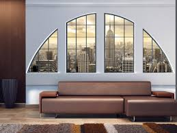 photo wallpaper wall murals non woven 3d modern art manhattan zoom