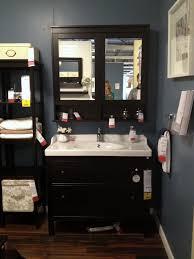 Ikea Bathroom Vanity Sink by Luxuriant Black Painted Bedroom Ikea Vanity Sink With Wall Mirror