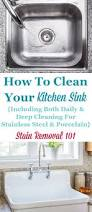Kitchen Cleaning Tips How To Clean Kitchen Sinks Hints And Tips