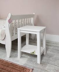 Small White Side Table Bedside Table In White Bedside Cabinet Co Uk Kitchen Home