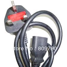 aliexpress com buy 100 new uk power cable uk power cord three