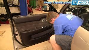 1998 Toyota Corolla Interior Door Handle How To Install Replace Door Panel Toyota Corolla 94 97 1aauto