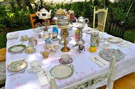 tea party tables ewe hooo a delightful doll tea party