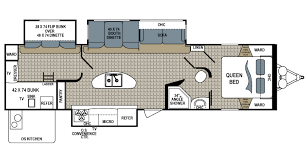 outdoor kitchen floor plans shop rvs by floor plan options veurinks rv bunk house rear