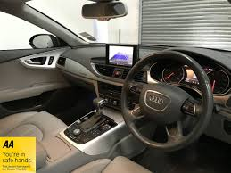 audi dealership interior 2010 60 audi a7 3 0 tdi saloon s tronic full rs7 conversion