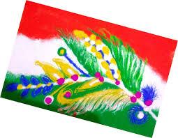 super easy independence day rangoli designs republic day rangoli