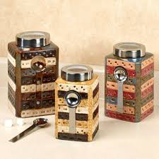 colorful kitchen canisters overwhelming colorful kitchen canister set derful jar kitchen