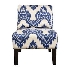 Home Decor Accent Chairs by Blue And White Accent Chair Modern Chairs Quality Interior 2017