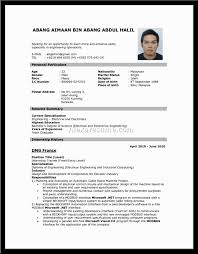 Electronics Engineer Resume Format Free Resume Templates Professional Report Template Word 2010