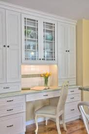 Kitchen Desk With Hutch A Built In Desk Hutch Combo Area Photo Musumeci Sensational