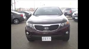 sold 2011 kia sorento lx manual for sale toronto ontario