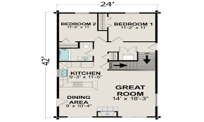 projects idea of small home floor plans under 1000 square foot 15