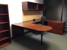 agreeable bestar connexion u shaped desk and hutch for your u