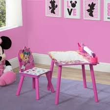 disney minnie mouse art desk paper roll toys