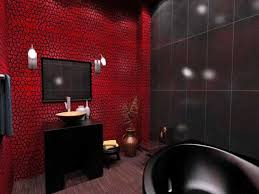 Red And Black Bathroom Accessories by Bathroom Red Blue Towels In Modern Nautical Bathroom Theme With
