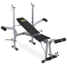 everlast standard weight bench with leg press 143634 at