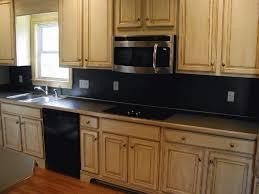 Modern Kitchen With Sleek Cabinets And Laminate Backsplash - Laminate backsplash