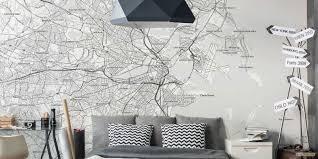 create a map mural custom map mural customaps create a map mural boston in our