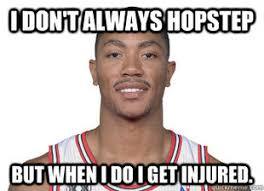 Derrick Rose Injury Meme - lol these derrick rose jokes on espn ign boards