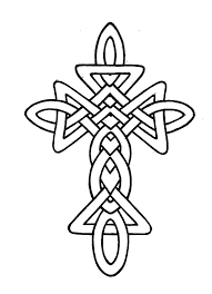 redwork celtic knot cross embroidery design knot