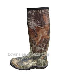 wholesale waterproof camouflage hunting rubber boots buy hunting