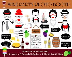 printable hippie photo booth props printable wine photo booth props wine tasting props wine party