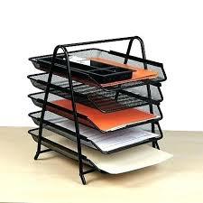 Metal Desk Organizer Metal Desk Organizer White Metal Desktop Organizer