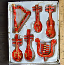 tree decorations musical instruments uk violin musical