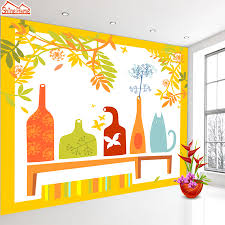 online buy wholesale yellow wallpaper living room from china